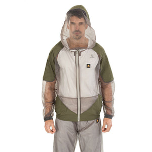 Mosquito Suit - Whole Body Repellent Bug Mesh Hooded Suits