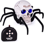Load image into Gallery viewer, Halloween Remote Control Skull Spider Toy