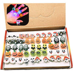 Load image into Gallery viewer, Halloween LED Flash Finger Ring