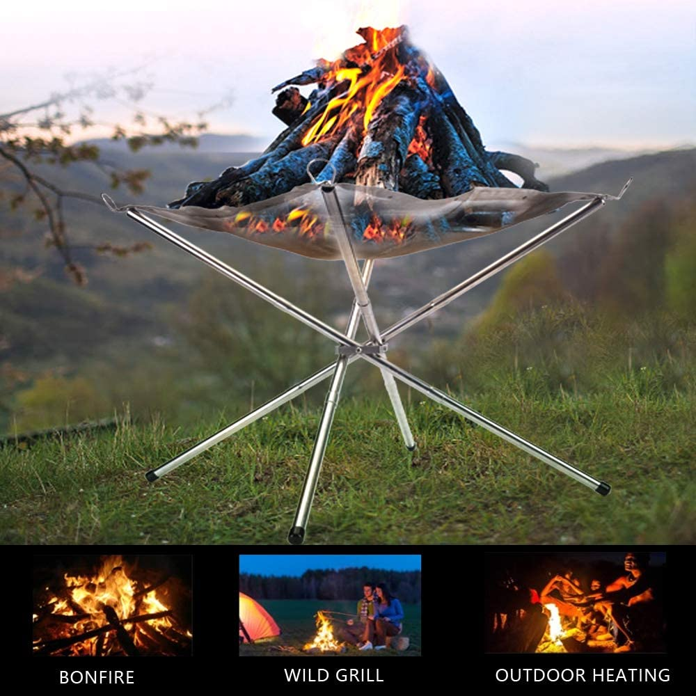 2020 UPGRADE PORTABLE OUTDOOR FIRE PIT 2.0