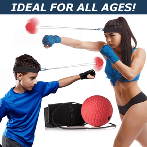 Boxing Reflex Ball To Speed Up Training
