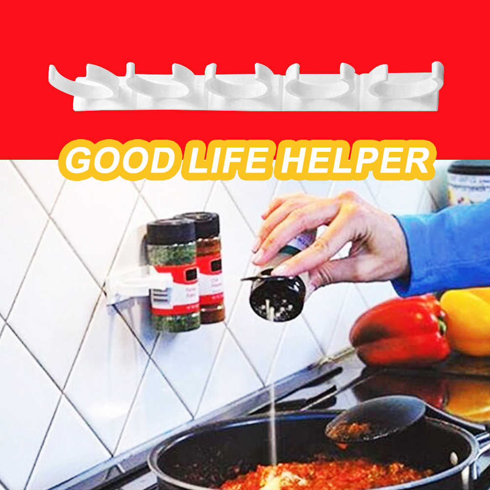 Portable kitchen spice hook (4 pcs included)