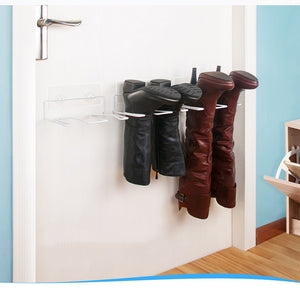 Wall-mounted boot stand