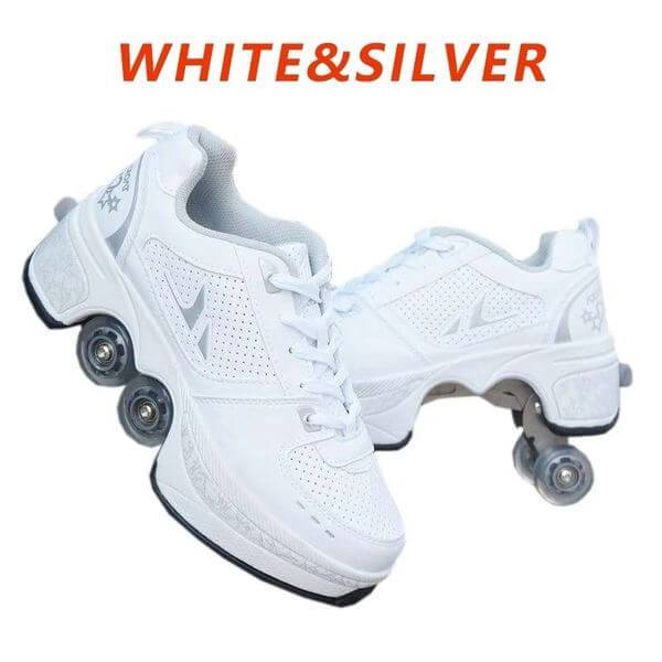 FREE SHIPPING—Deformable sports roller skates