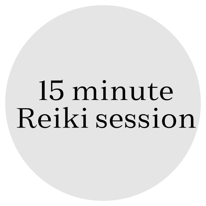 15 Minute Reiki Healing (Done Remotely)