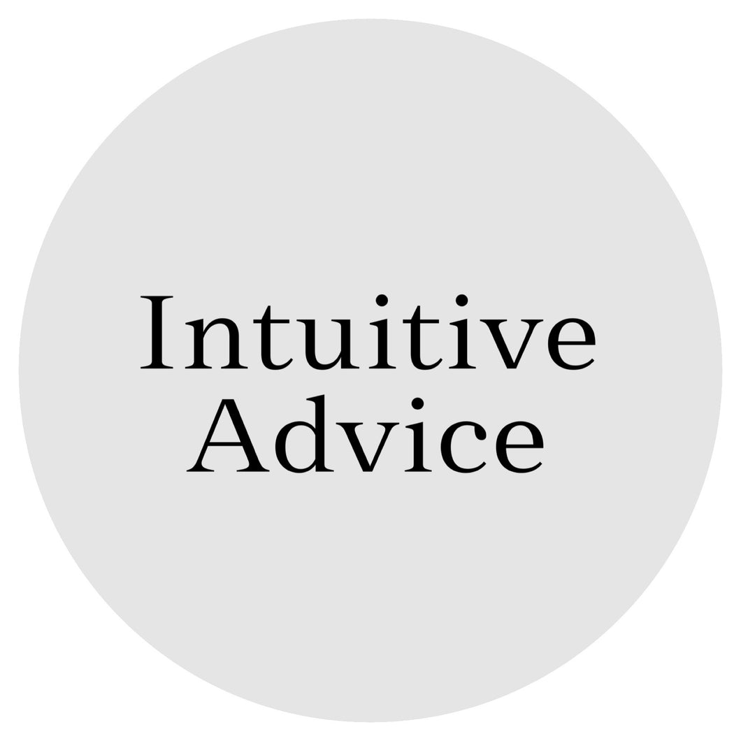 Intuitive Advice