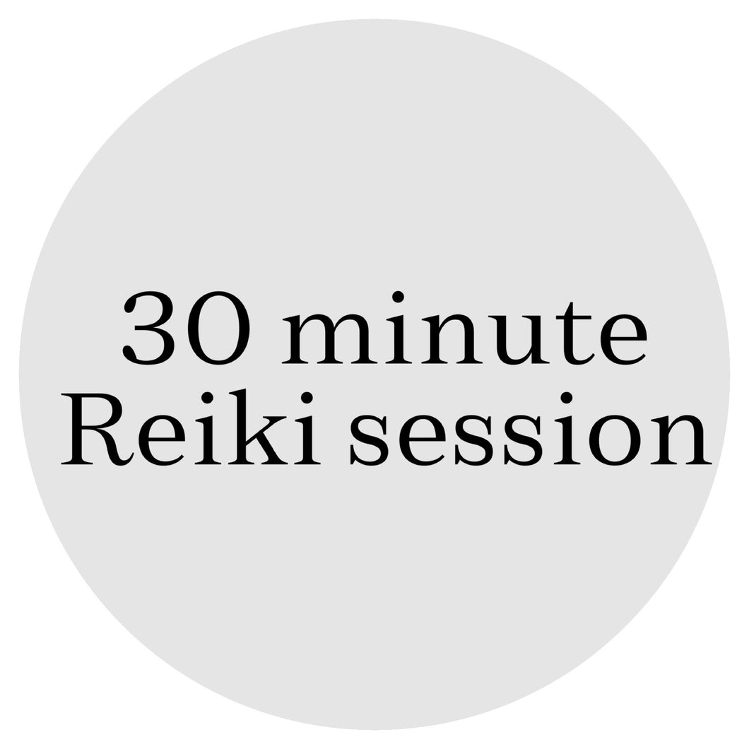 30 Minute Reiki Healing (Done Remotely)