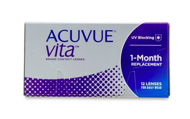 Acuvue Vita Monthly Contact Lenses 12-Pack - Lensbox™