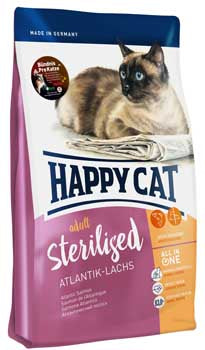 Sterilised Salmon Cat Food
