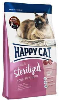 Sterilised Beef Cat Food