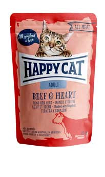 Beef & Heart Wet Cat Food