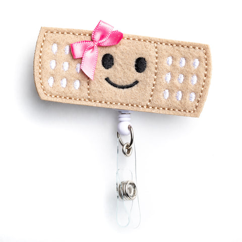 Bandage Badge Holder