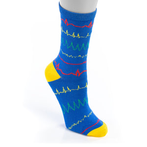 Rainbow Rhythm Socks