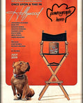 Brandy directors chair Pawtographed Picture by Sayuri. Official-authentic. LIMITED