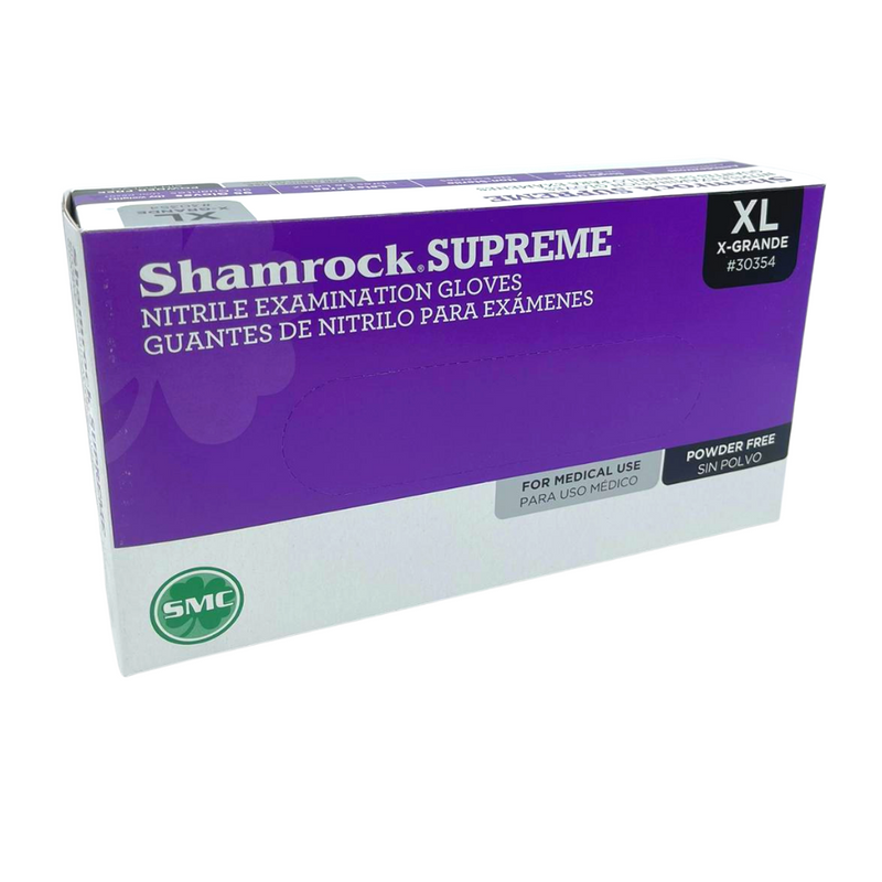 Supreme Nitrile Powder-Free Exam Gloves - 100/box