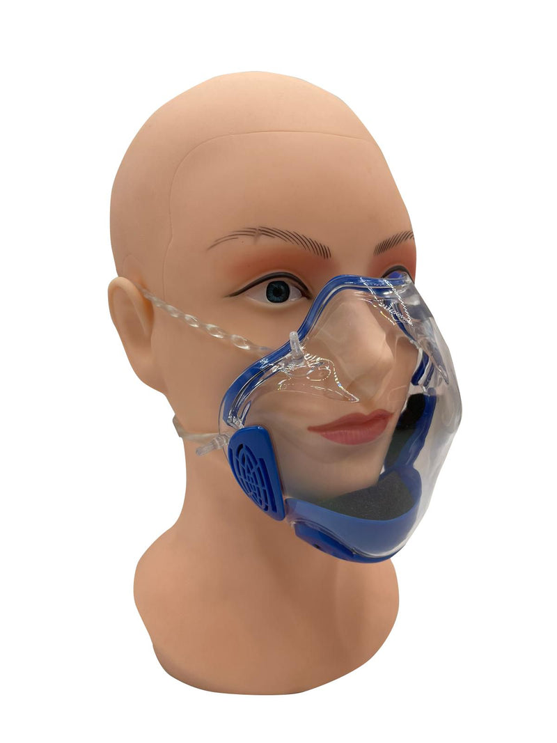 Durable Mask Face Shield Combine Transparent Face Mask Lip Reading Mask