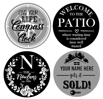 Round Sign Kit - Delivery & Pick-Up