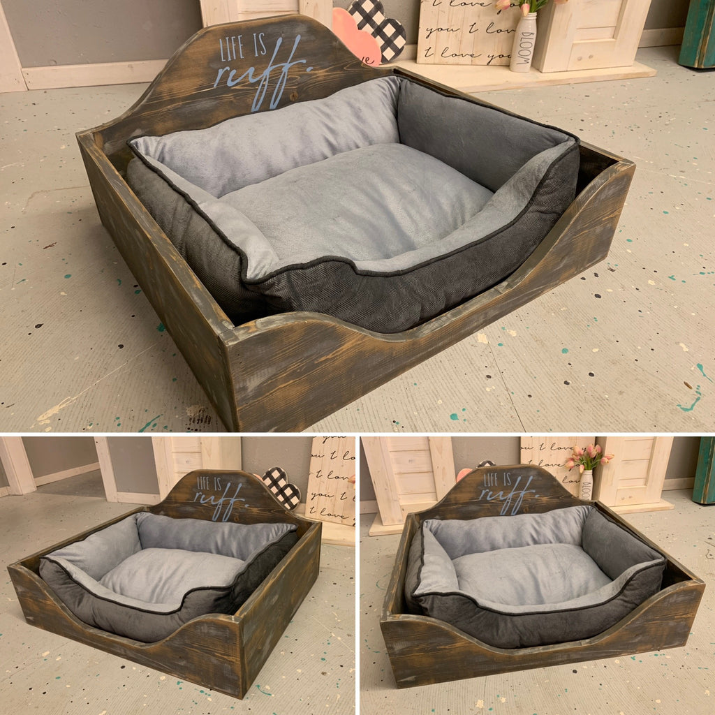 Pet Bed [Teal Plank To-Go]