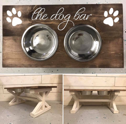 Dog Bowl Stand Kit