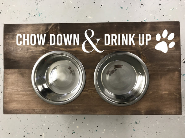 Dog Bowl Stand Kit [In-Store Pickup]