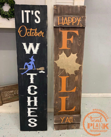 Leaning Porch Sign [Private Party]