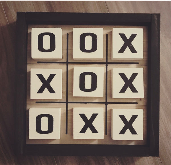 Tic Tac Toe Board Kit [In-Store Pickup]