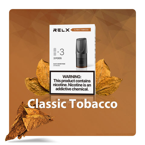 Image of Relx Pods - Classic Tobacco