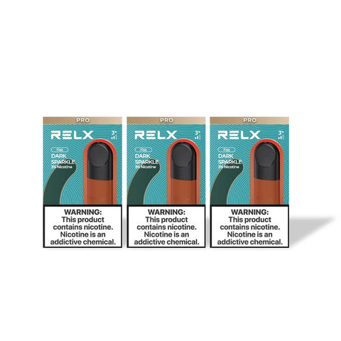 RELX Pod Pro - Dark Sparkle (Frozen Coke) (3 Packs)