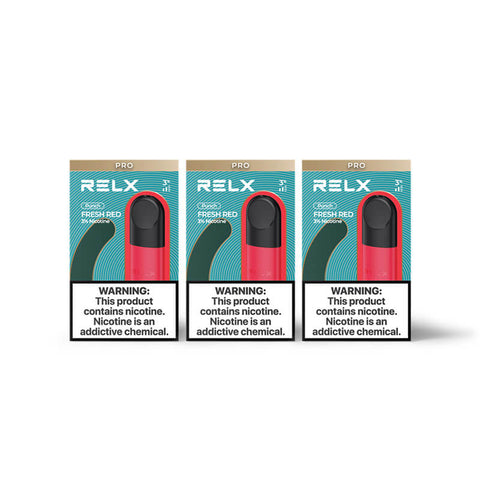 RELX Pod Pro - Fresh Red (Watermelon)  (3 Packs)