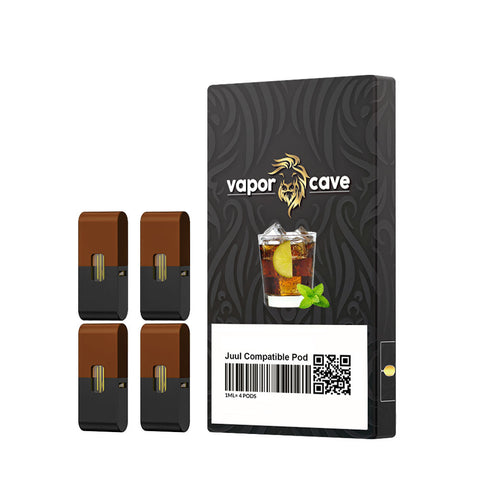 Image of NICOTINE/NICOTINE-FREE COMPATIBLE PODS FOR JUUL