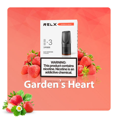 Image of Relx Pods - Garden's Heart (Icy Strawberry)