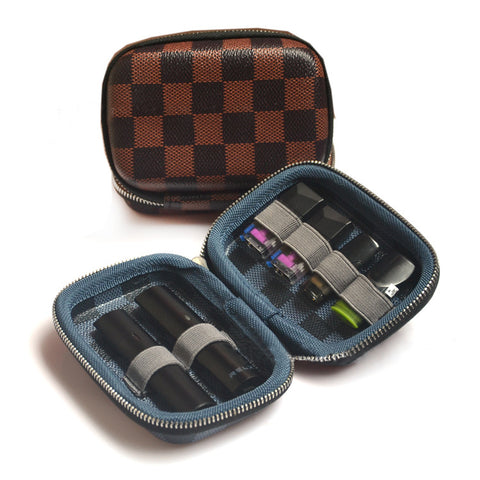 Image of Leather Portable Carrying Travel Case for Relx | Relx Australia | Vapepenzone AU