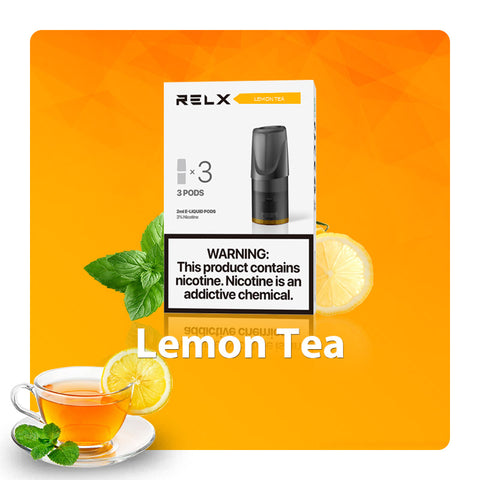 Relx Pods - Lemon Tea