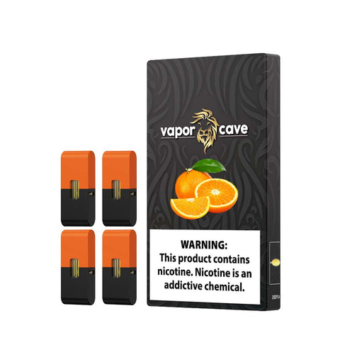 VC  Compatible Pods For JuuI - Tangerine Ice