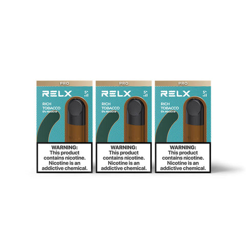 RELX Pod Pro - Rich Tobacco (3 Packs)