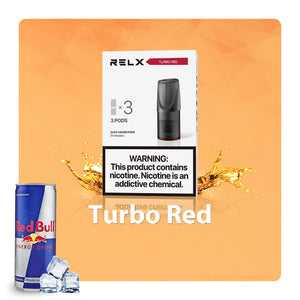 Relx Pods - Energy Shot(Turbo Red)