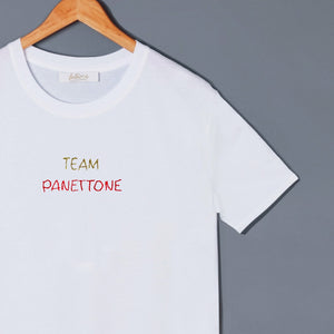 TEAM PANETTONE - T-shirt cotone biologico