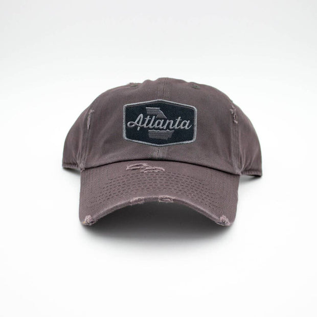 Atlanta Patch Hat - Dark Gray - Bill Hallman- Inman Park