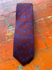 Cedric Brown Silk Ties - Bill Hallman- Inman Park