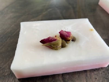 Rose Vanilla Shea Butter Bar Soap