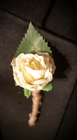 Single Flower Lapel Pin