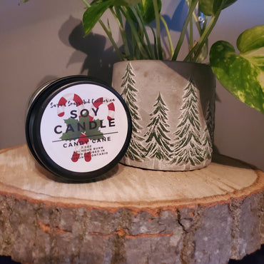 Candy Cane Candle - 7.5oz