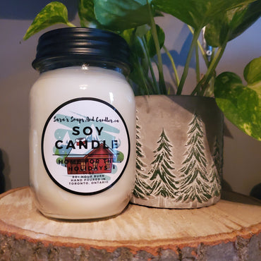 Home for the Holidays Candle - Large