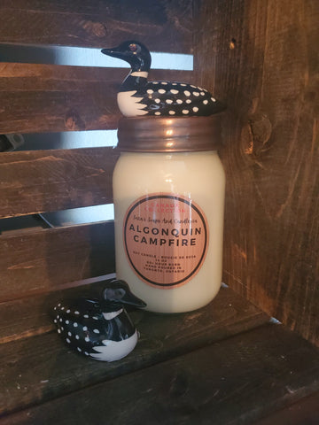 Mother's day gift pack: algonquin campfire candle