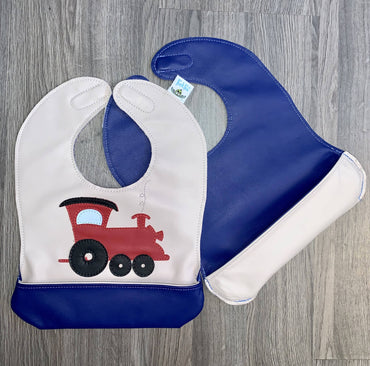 Infant Train Bib