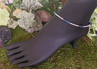 """Tranquility, Intuition & Peace of Mind"" Ankle Bracelet"