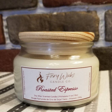 Roasted Espresso - Soy Wax Scented Candle