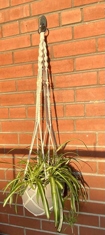 Macramé Hanging Planter - Without Tassel