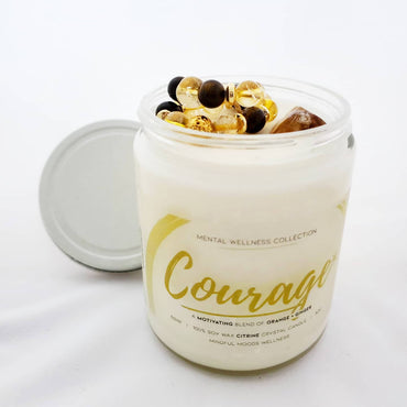 Courage Bracelet + Candle Set