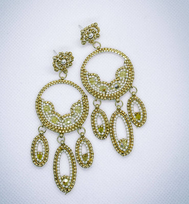 Swarovski crystals Aida Earrings